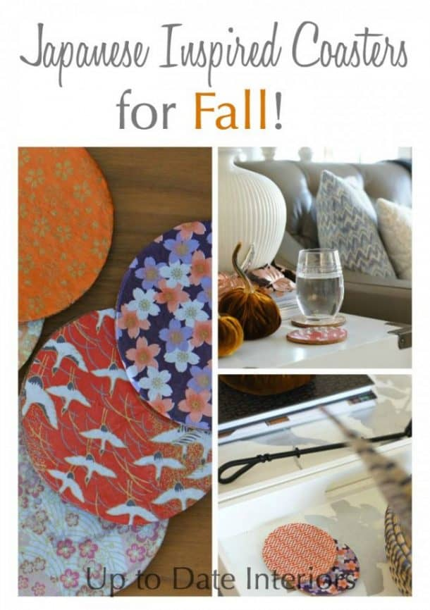 fall coasters diy