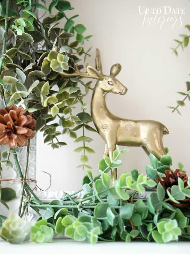 modern Fall wreath