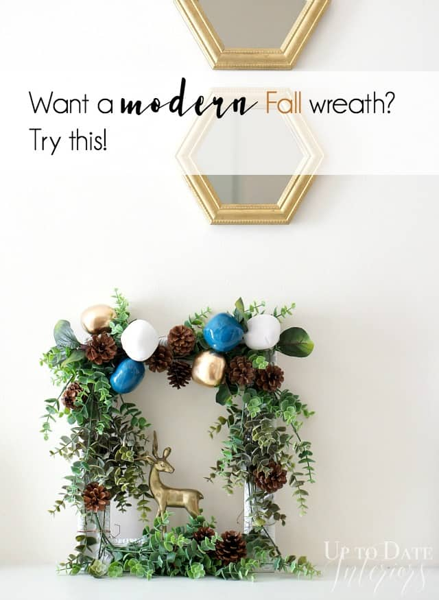 eclectic Fall wreath