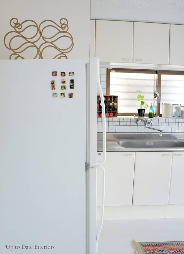 plain rental kitchen