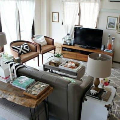 eclectic rental living