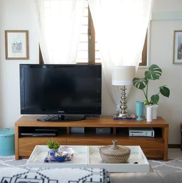 tv stand decor