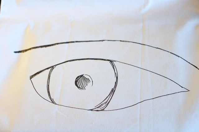 eye-drawn-shape