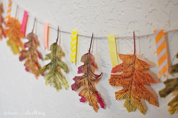 leaf-garland