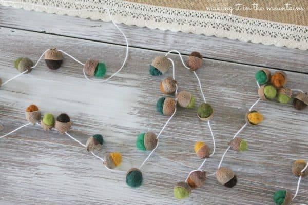 felted-acorn-garland-making-it-in-the-mountains