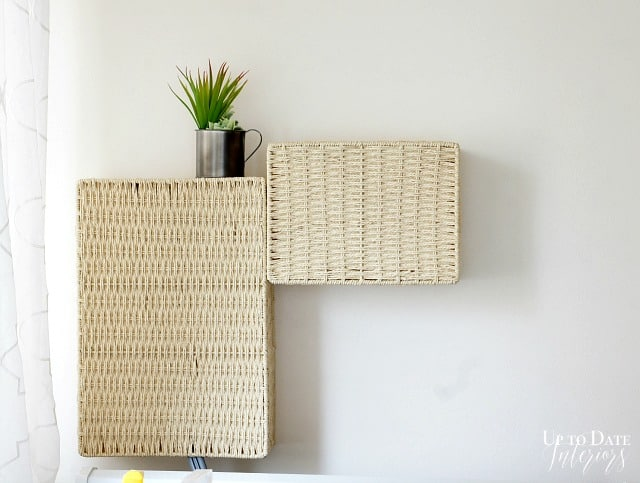 readers favorites renter solution for ugly cords and hoses in the laundry room diy basket covers