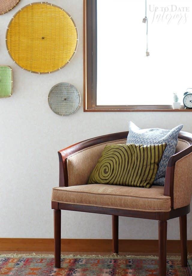 bedroom corner $100 room makeover