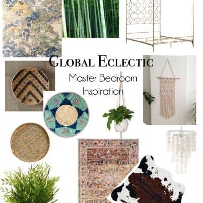 global-eclectic-master-bedroom-inspiration for $100 room makeover