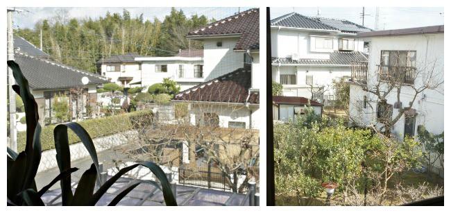 japanese neighborhood view