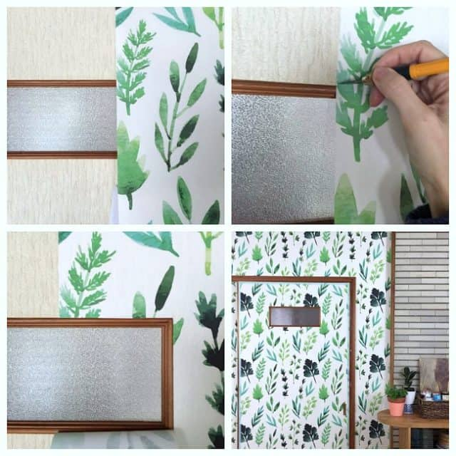 tips for cutting wallpaper