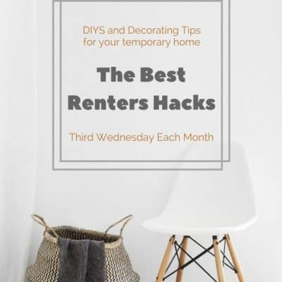 The Best Renters Hacks:  Rental Kitchen Ideas