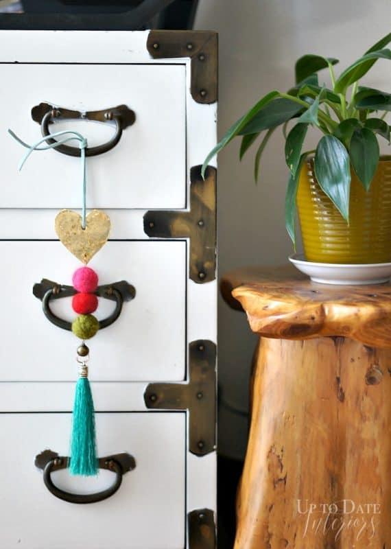 doorknob hanger for valentine's day