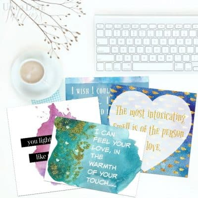 free printable valentine's day cards and gift ideas for him