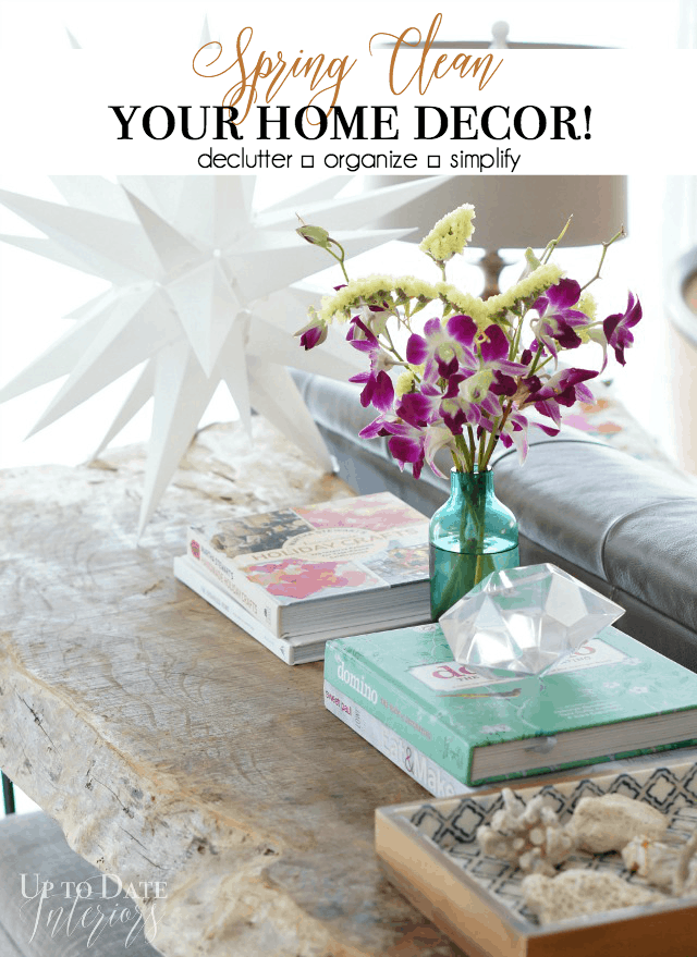 declutter home decor