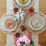 Boho Table Setting Pinterest Pink