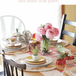 Boho Tablescape Pinterest Pink