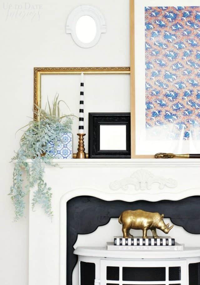 faux fireplace decor ideas
