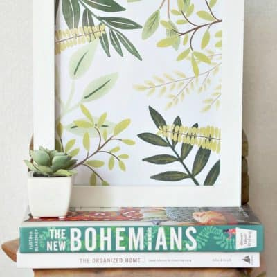 Add Pantone's Color of the Year with a Free Greenery Printable