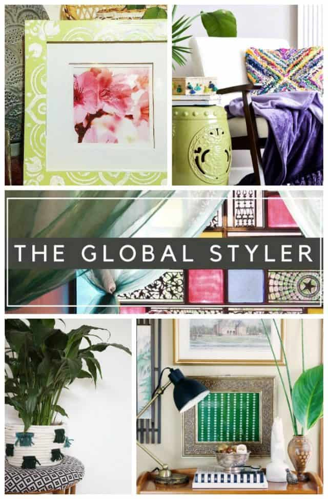 The Global Styler DIY projects inspired by Eclectic Global style