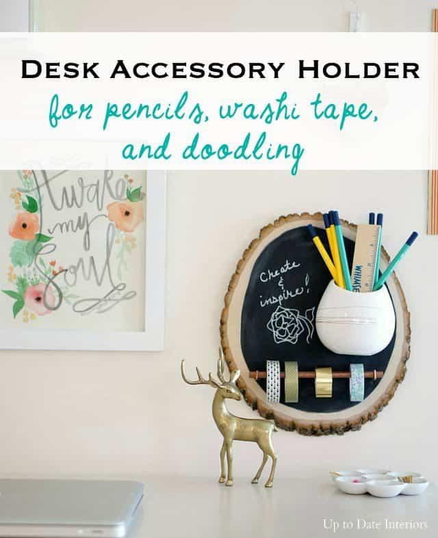 desk-accessory holder