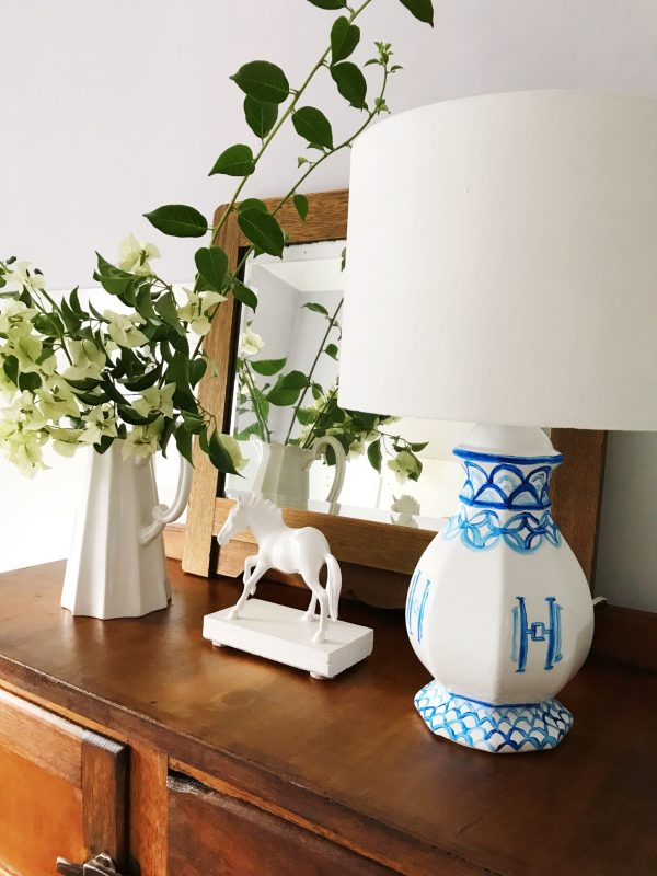 diy chinoiserie lamp makeover