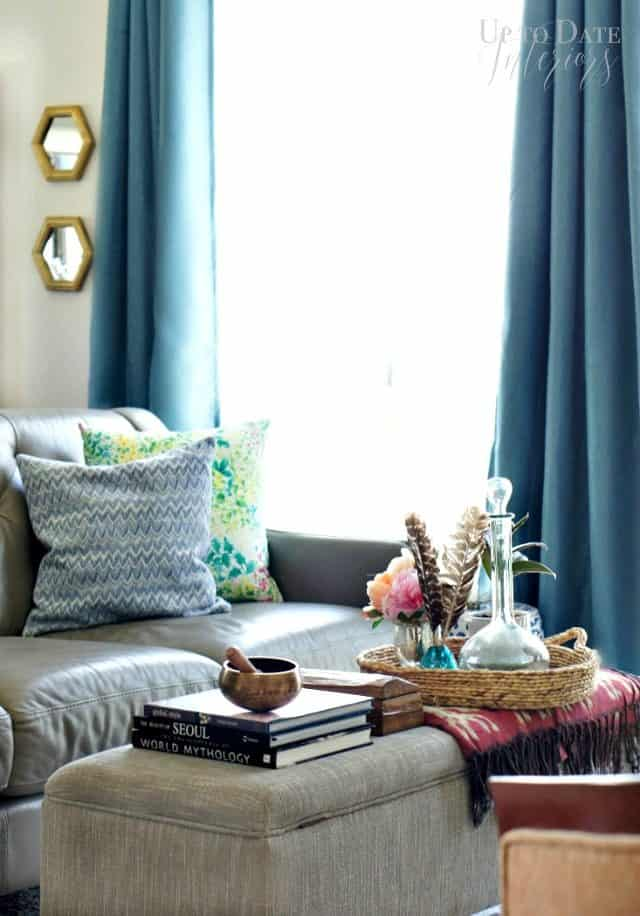 Miles Redd inspired living room with decorating tips
