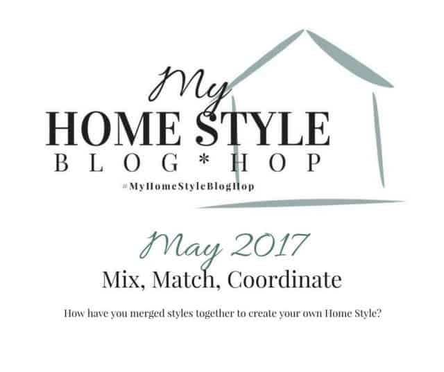 mix, match, coordinate with my home style