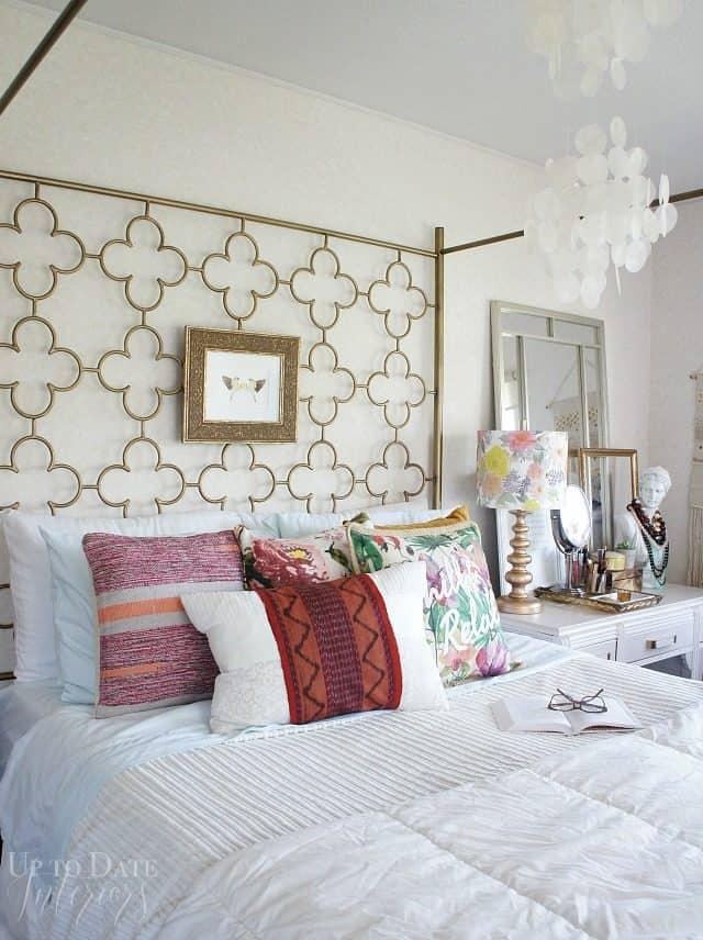 eclectic global bedroom decor