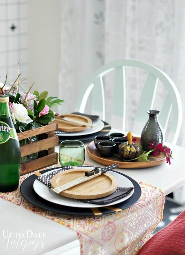 Asian tablescape