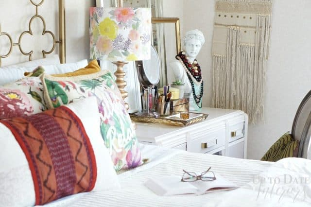 Iris Apfel inspired global decorating