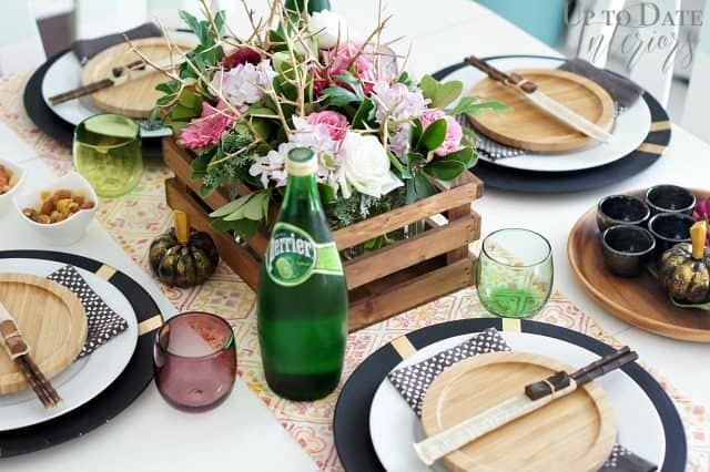 Japanese inspired tablescape
