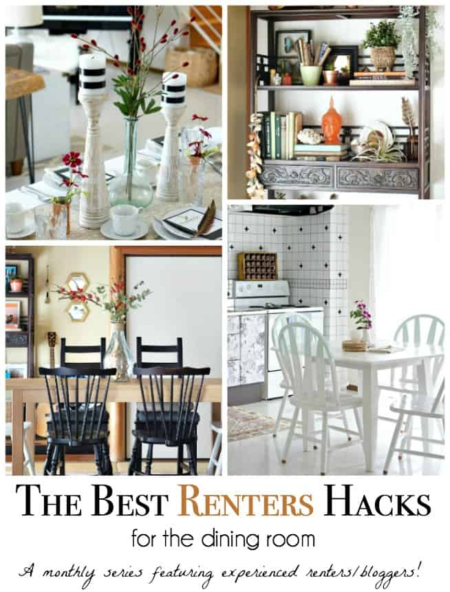 decorating hacks for renters dining space rental decorating ideas up to date interiors 10691