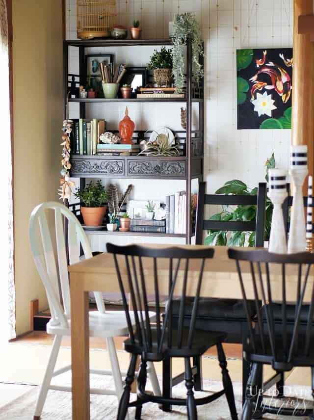 sara Jessica Parker inspired dining room