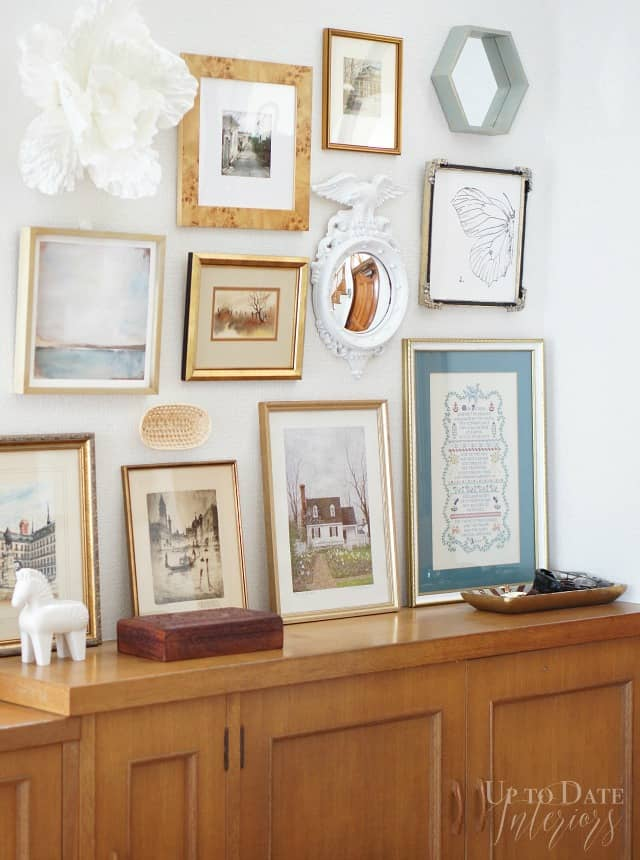 eclectic summer home tour foyer