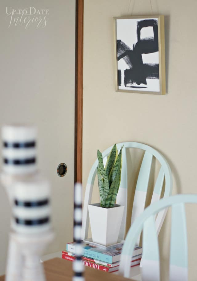 art ideas for a global inspired dining room