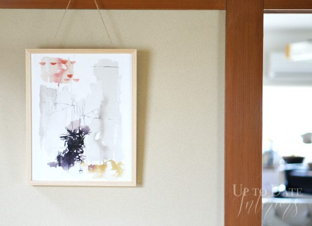 minted art work for the dining room
