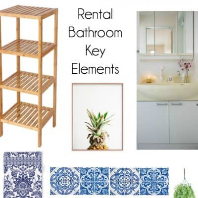 bathroom plans and key elements