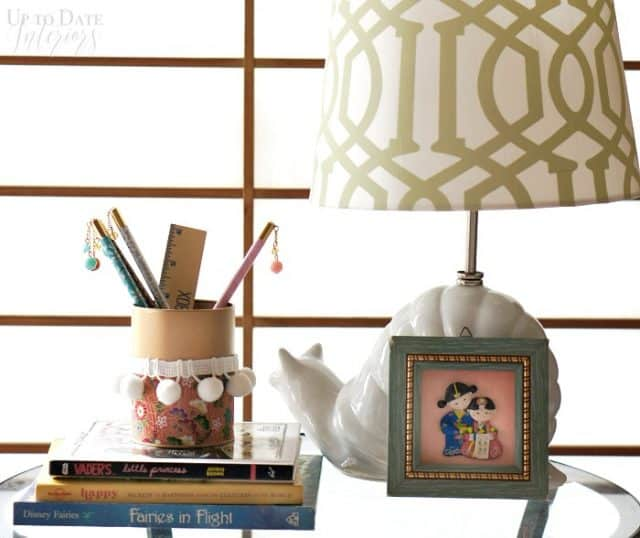 The global styler gold Japanese pencil holder, back to school diy