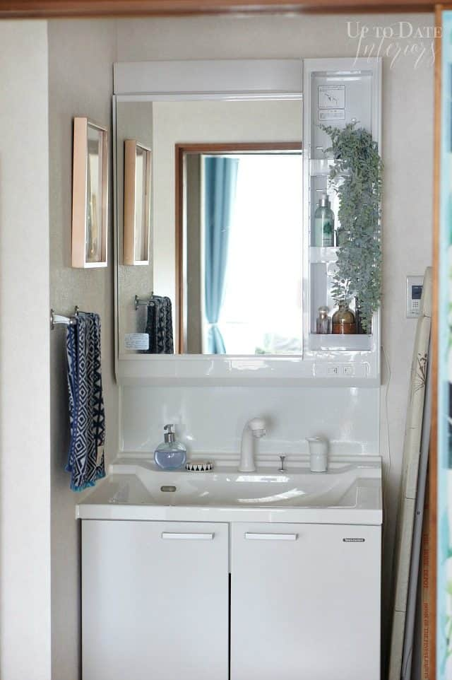 rental bathroom makeover on a budget
