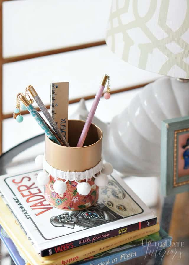 The Global styler Japanese pencil holder diy