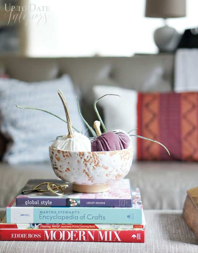 How to Decorate with Velvet Pumpkins
