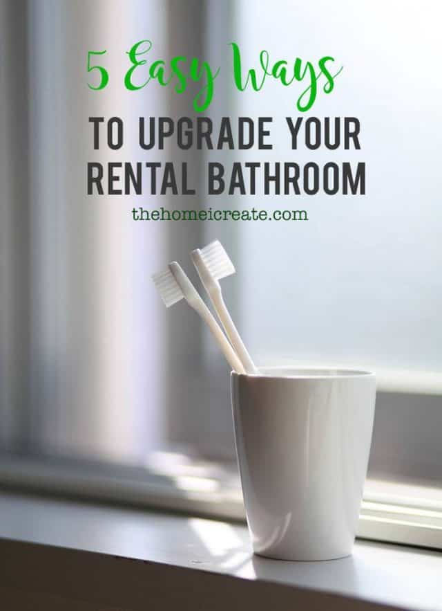rental bathroom decorating ideas