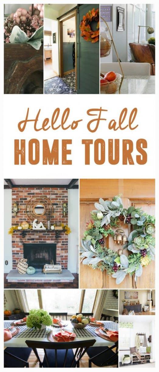 hello fall home tour