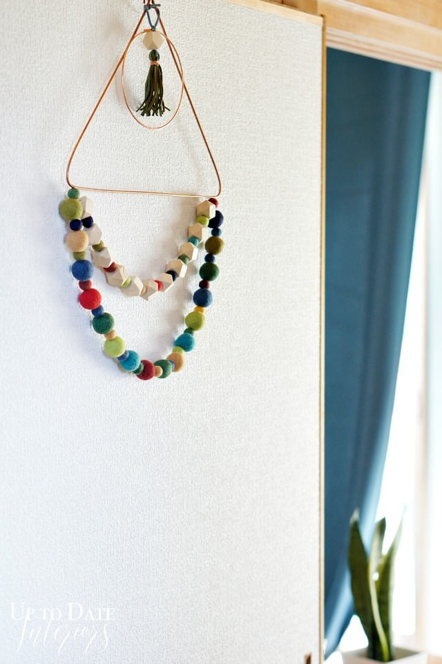 bead-wool-wreath-fall boho style