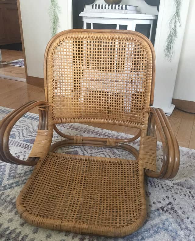 tatami chair makeover