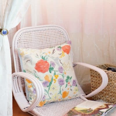 easy chair makeover with homeright