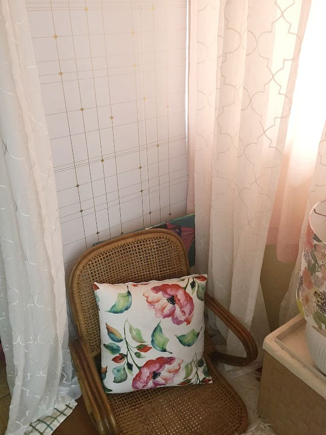 chair-reading nook