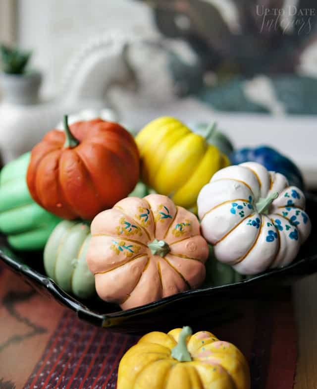 diy hand painted pumpkins