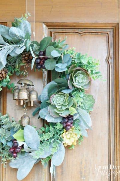 side-wreath