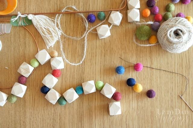 wool-ball-wood-bead-garland-door-hanging-wreath